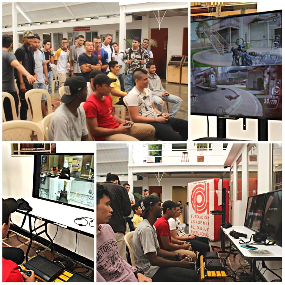 exhibición e-sport fadp 2017